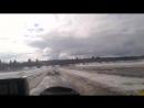 ледяная переправа через р. Северная Двина. Архангельская обл. 06.04.2016 часть 1