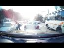 Драка на дороге