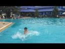 Падение в воду пластом от бесстрашного Даулета