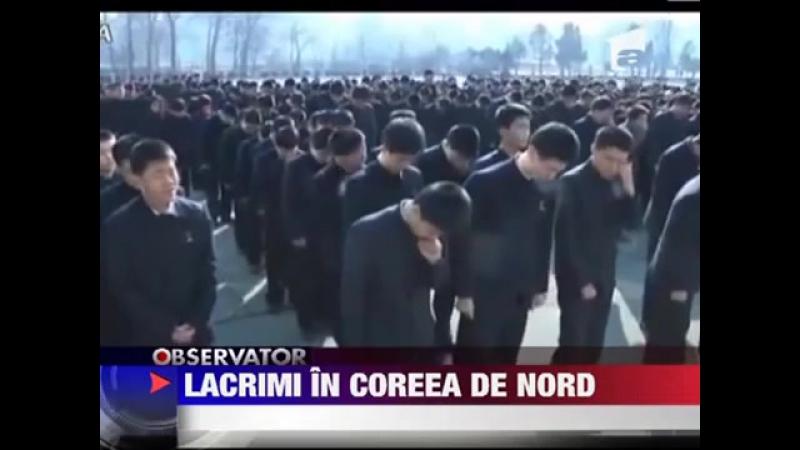 Coreea de Nord Vai de cel care n-a plans amar de cei care-au fost veseli 12 IANUA