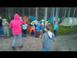 Рыцарский поединок - поздравление Елисея с днем рождения от двух ватаг на Карельской Заставе