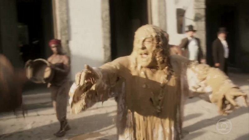 Novo Mundo - Sebastião é humilhado em praça pública