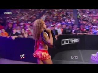 WWE RAW 07-12-10 Alicia Fox vs Gail Kim