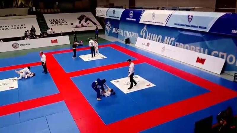 Чемпионат Европы UAEJJ_3 февраля_Винокурова Александра VS Дарья Корнеева