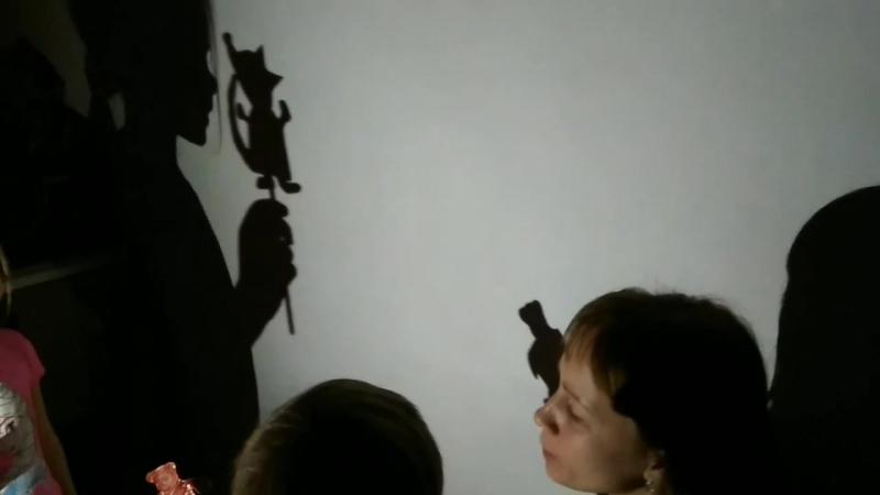 Наш таинственный теневой театр, сотворенный вместе с детками под чутким и талантливым режиссёрским ведением мамы Лены Великаново