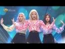 《Hot Unit Debut》 LOONA ODD EYE CIRCLE – Girl Front at Inkigayo 170924