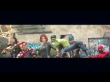 MARVEL vs. DC - Epic Dance Battles! (The Avengers vs. Justice League) / Танцевальная битва