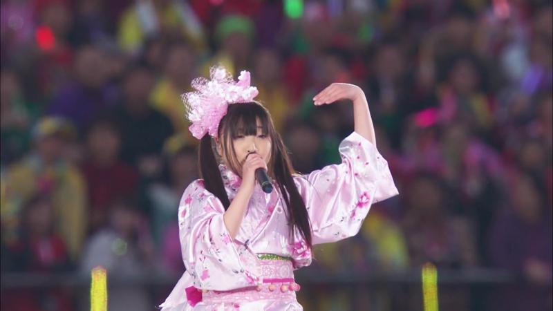 Momoiro Clover Z - Ikuze! Kaitou Shoujo [Haru no Ichidaiji 2014]