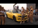 Super HOT car wash with BEAUTIFUL girls in bikinis