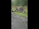 Авария на 42 км Хабар-Комсомольск,14 сентября.Фура налетела на рабочих,которые ремонтировали дорогу,сели обедать