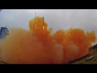 Подготовка и пуск ракеты-носителя легкого класса Рокот (к.Плесецк)