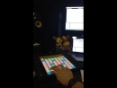 Krunk Dimatik - Live in the studio working on our collab