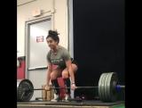 Аиша Хейли - тяга 190,5 кг на 2