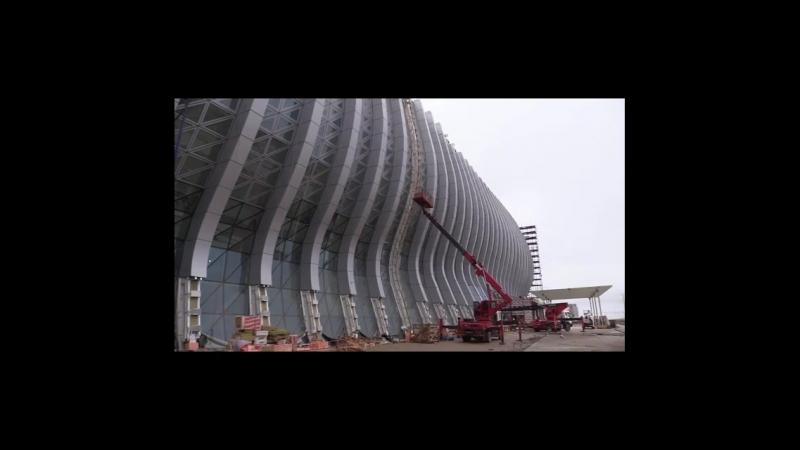 Новому терминалу Международного аэропорта «Симферополь» присвоен адрес : площадь Воссоединения, 1