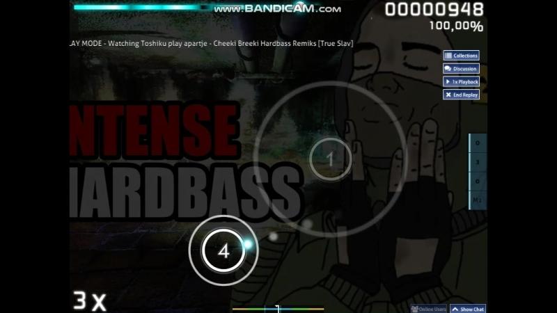 Osu! apartje - Cheeki Breeki Hardbass Remiks S (98.48) by Toshiku