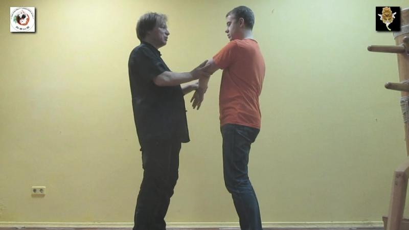 WING CHUN OPEN HANDS DAI SIFU SERGEI SHELESTOV MISTER ANTON BUROV OPEN HANDS FEELINGS TRAINING 31.2