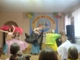 Танец старшей группы восточного танца