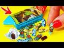 🌟ШОКОЛАДНЫЕ КОНФЕТЫ для КУКОЛ 💖ОЧЕНЬ МАЛЕНЬКИЕ ЕДА для кукол FIMO СВОИМИ РУКА