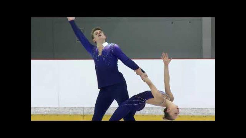 Aleksandra BOIKOVA / Dmitrii KOZLOVSKII RUS - RIGA - Pairs Short PGM -ISU - JGP 2017