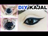 DIY Kajal At Home - Smudge Free, Long Lasting, Blackest Black, 100% Natural   PrettyPriyaTV