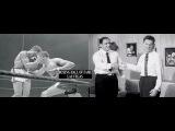 (Main Event) Rocky Marciano Watches Floyd Patterson War Tommy Jackson Co-Host Eddie Bracken June 8, 1956
