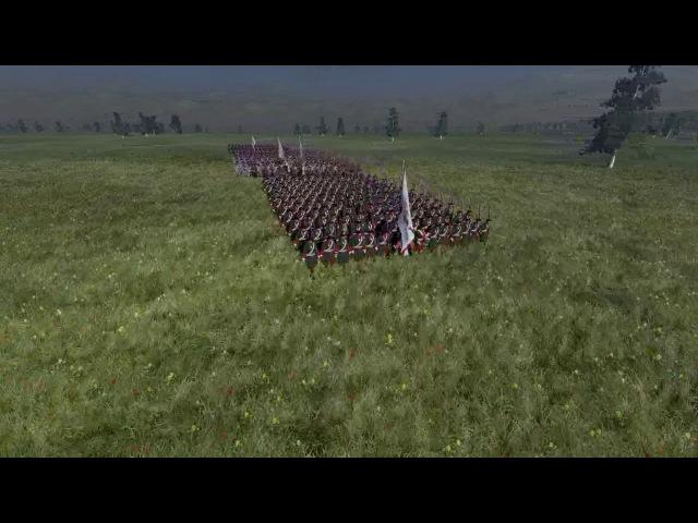 Парад Русских войск в Царском селе 1712 года(конец 6 серии прохождения Empire total war)