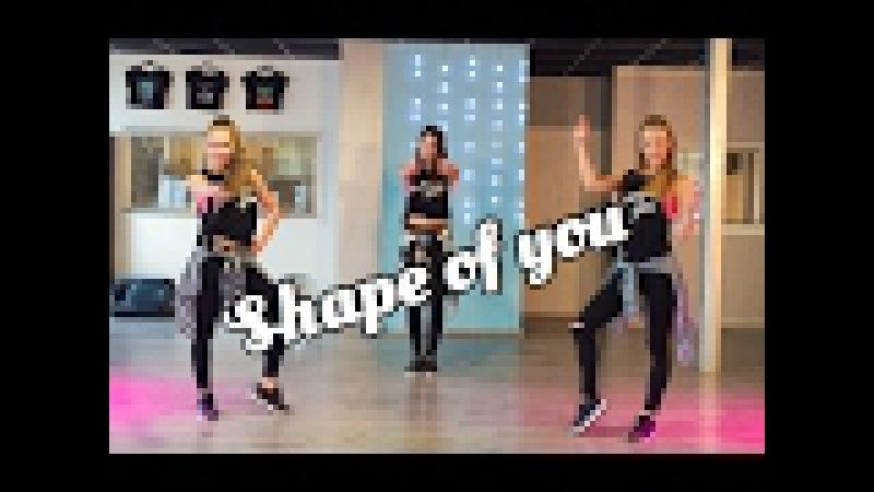 Shape Of You - Ed Sheeran - Fitness Dance Choreography - Baile - Coreografia Zumba