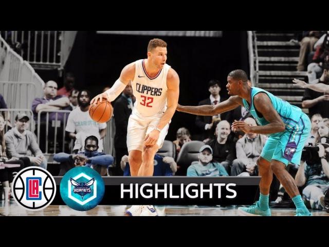 Обзор НБА Шарлотт Хорнетс – Лос-Анджелес Клипперс 19.11.17