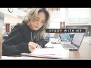 STUDY WITH ME AT THE LAW LIBRARY 2 VLOG | 같이 공부해요 [도서관 백색소음]