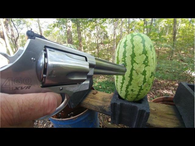 460 Magnum vs Watermelons