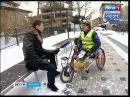 Инвалид из Волгограда приехал в Иркутск на хендбайке