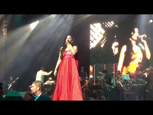 Shreya Ghoshal I Shukran Allah I Shreya Ghoshal Live With Symphony ISan Jose I Oracle Arena I2608
