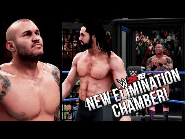 WWE 2K18 OFFICIAL GAMEPLAY! NEW ELIMINATION CHAMBER, RKO ANIMATION MORE! (RAW Footage)