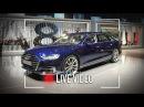 Nuova Audi A8, vista dal vivo allAudi Summit di Barcellona