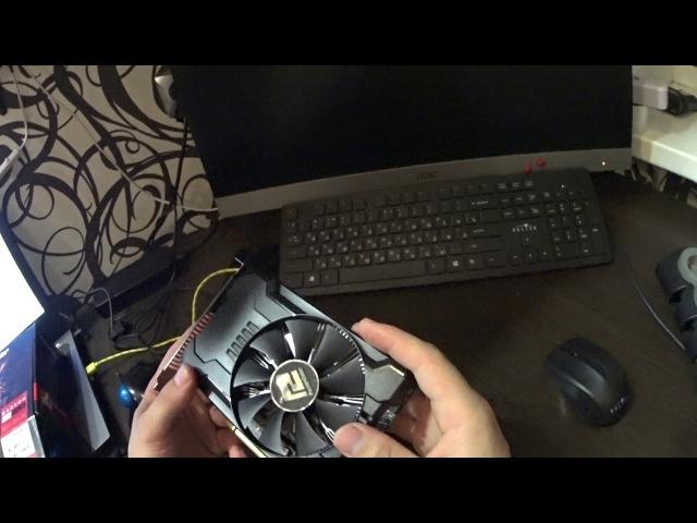 Распаковка PowerColor Radeon RX 560 2GB