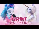 ☽ Moonlight Jewel ☾ Repaint Transform Avea Trotter Monster High Custom OOAK Unicorn