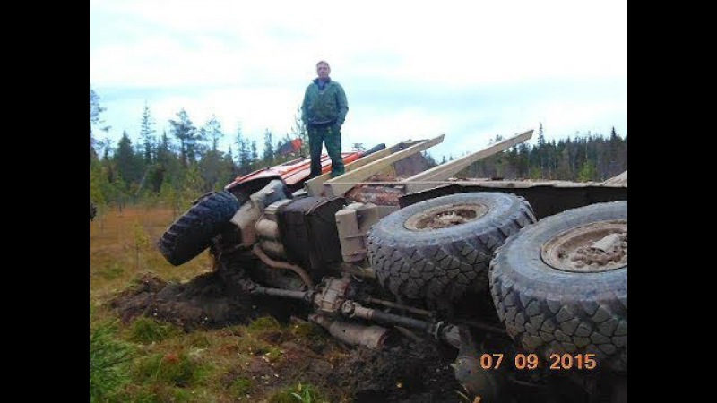 Не очкуй или профи 80 уровня за рулем грузовика