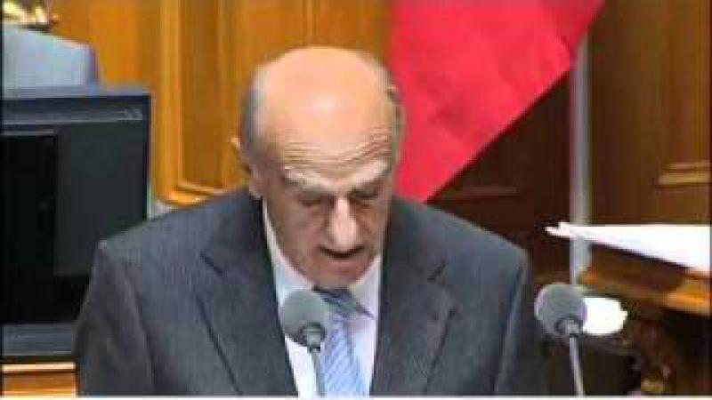 Hans-Rudolf Merz Lachanfall Politiker Bundesrat Schweiz Bündnerfleisch im ganzen Zusammenhang