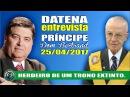 Datena entrevista Dom Bertrand Príncipe imperial do Brasil. Monarquia no Brasil.