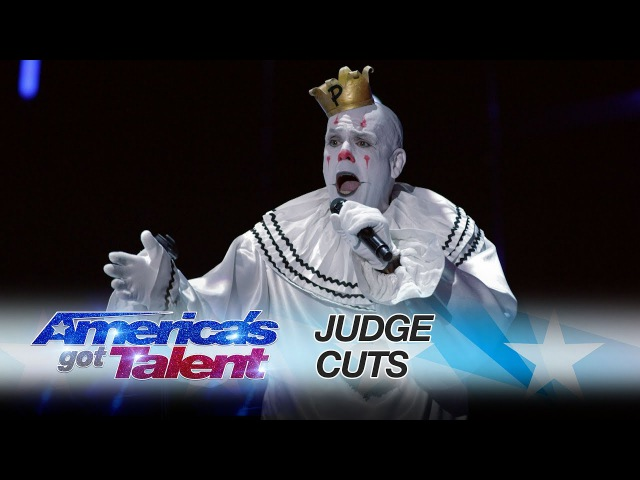 Puddles Pity Party Lonesome Clown Performs All By Myself - Americas Got Talent 2017