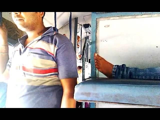 Железные дороги в Индии в поезде
