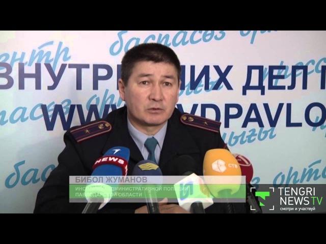 Наехавшую на женщину с коляской автоледи задержала полиция Павлодара