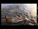Легкоатлеты Марий Эл на сборах в СОЛ Олимпиец на Яльчике играют в водное поло