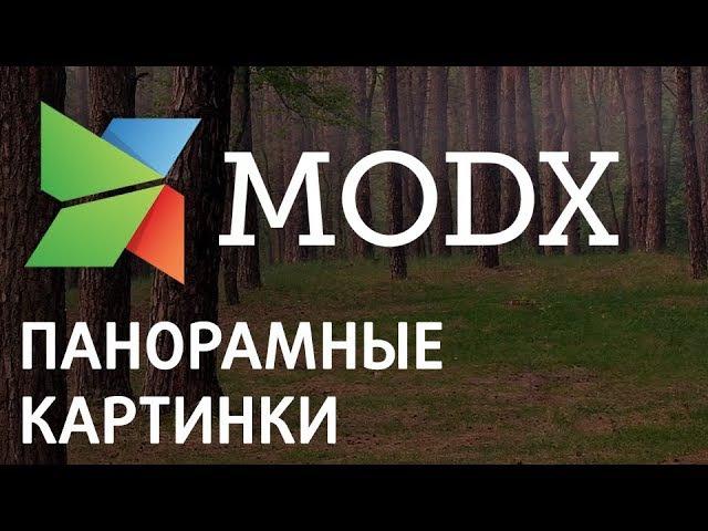 Создание пункта меню с панорамными картинками на Modx «Ядвига:Стартовый пакет»