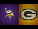 Week 16 / 23.12.2017 / Minnesota Vikings @ Green Bay Packers