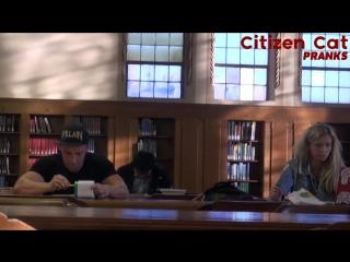 Нарушает тишину в библиотеке (Пранк Vitalyzdtv)