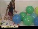 (Balloon fetish looner) Taras Balloons 074 - Pin Popping Massacre