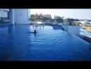 После горячего бассейна в холодный