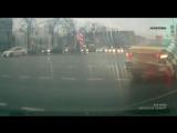 ДТП 11.12.2017 Такси и Шкода, Тверская улица