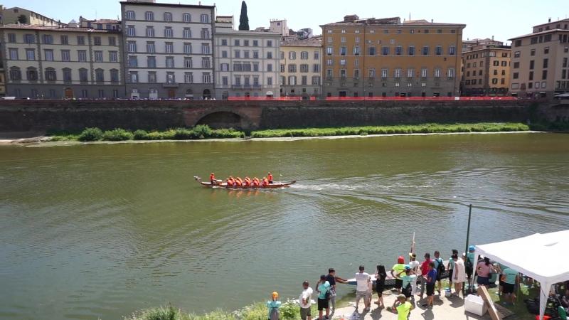 Соревнования по гребле во Флоренции/Rowing competitions in Florence
